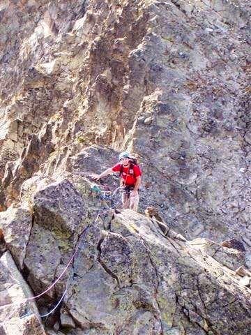 On the Trois Conseillers ridge
