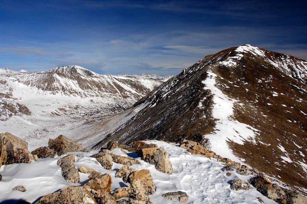 Mount Cameron and Quandary Peak