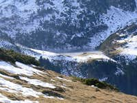 Lac de Bareilles from the Mont Né slopes
