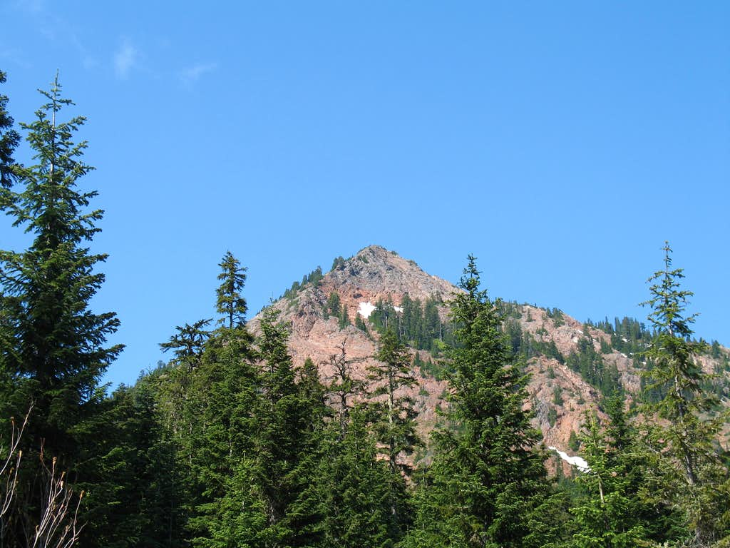 Red Mountain from Commonwealth Creek