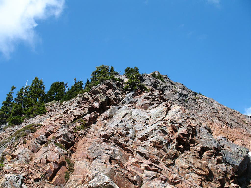 South Ridge of Red Mountain