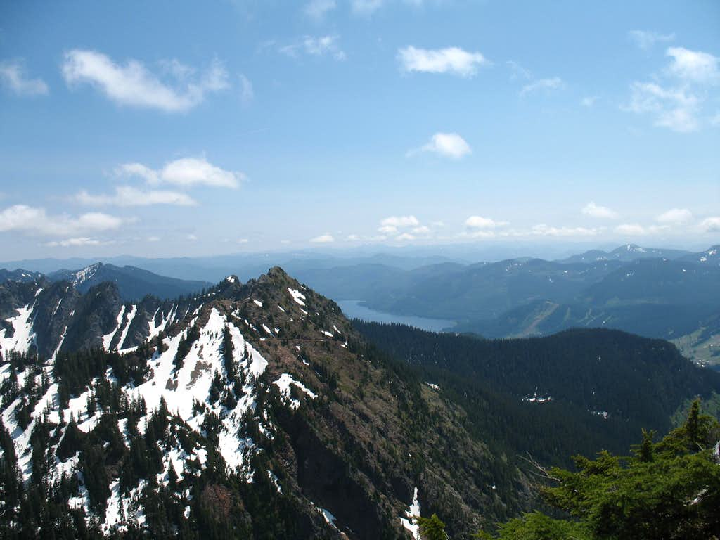 Kendall Peak from Red Mountain