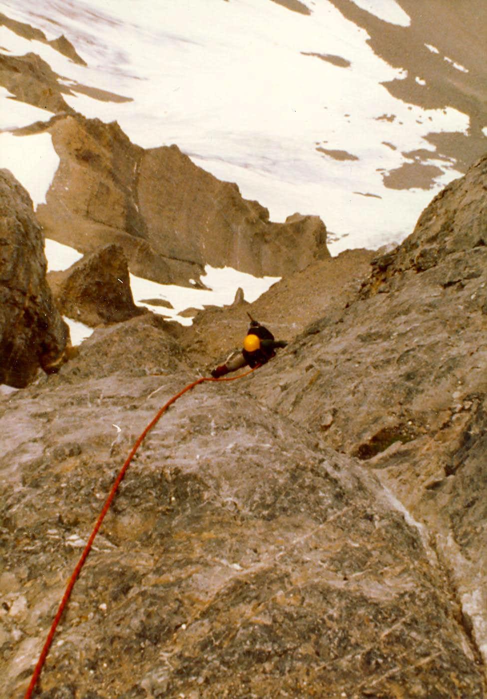 North Face Mt Breitenbach