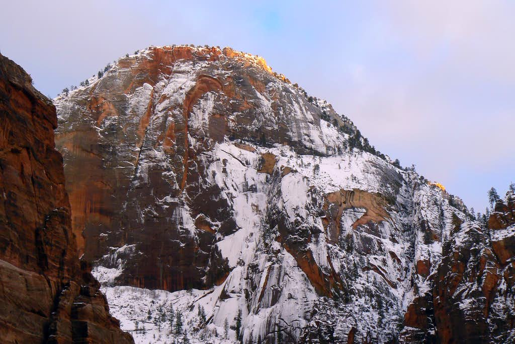 Last Light on Cable Mountain