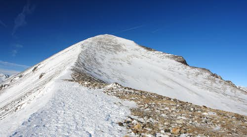 East Ridge of Quandary Peak