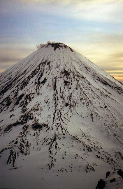 Summit seen from Kamen