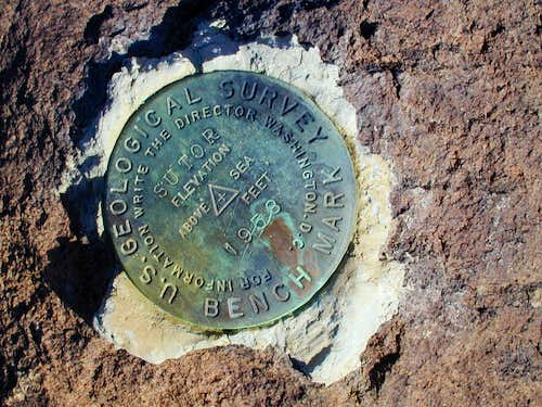 USGS survey marker