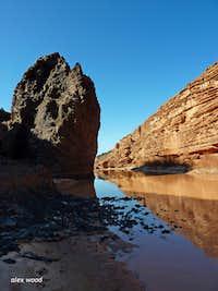 Sandstone and Basalt