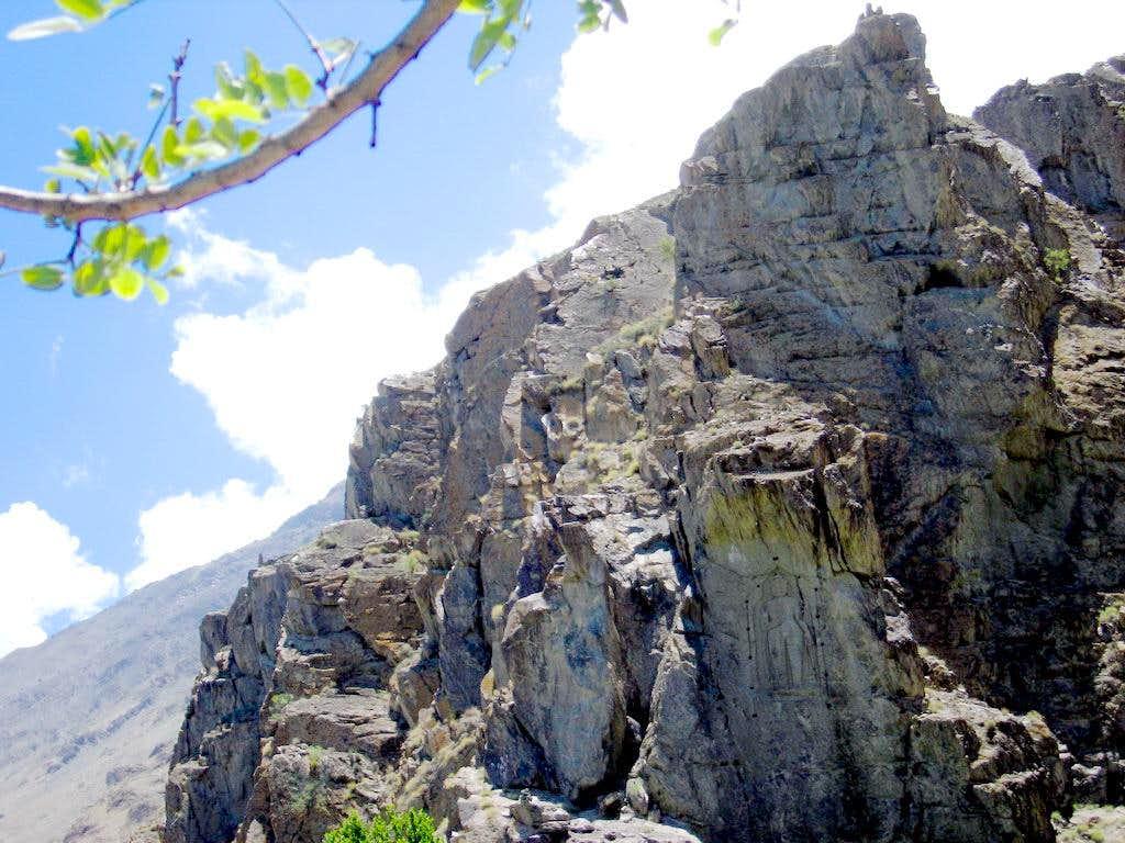 Buddhist Rock, Gilgit