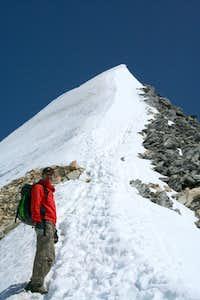 My highest peak until now - Hochfeiler 3510 m