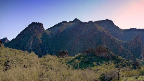 Salvation Peak & Governors Peak