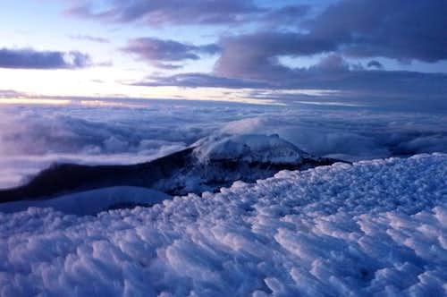 Sunrise at the summit