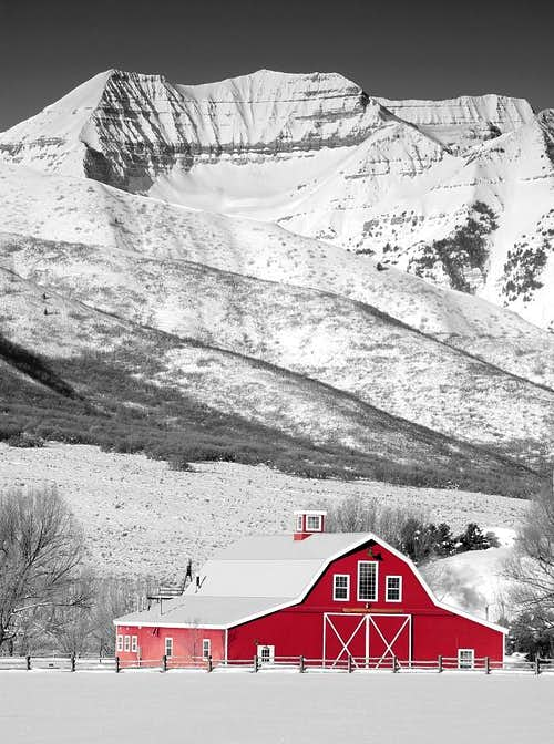 Red Barn and Timp