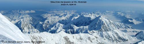 Denaly 2009 Mount McKinley-Summit Panorama