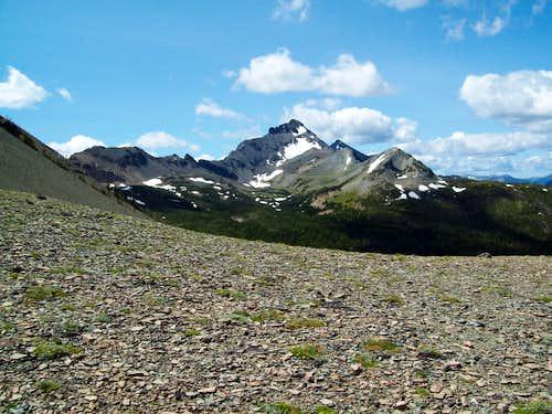 Summit from Firebrand Pass