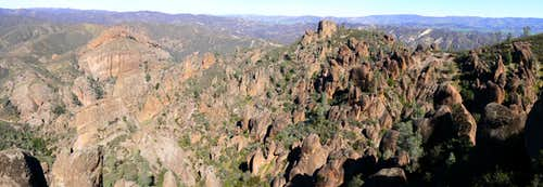 Pinnacles from High Peaks Trail