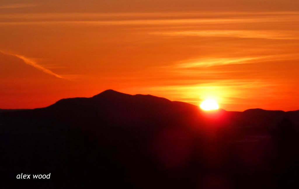 Bill Williams at Sunset