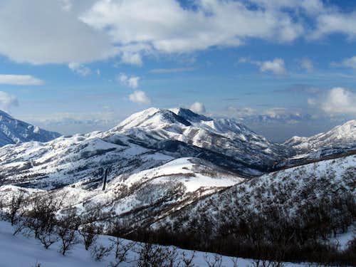 Dale Peak, UT.