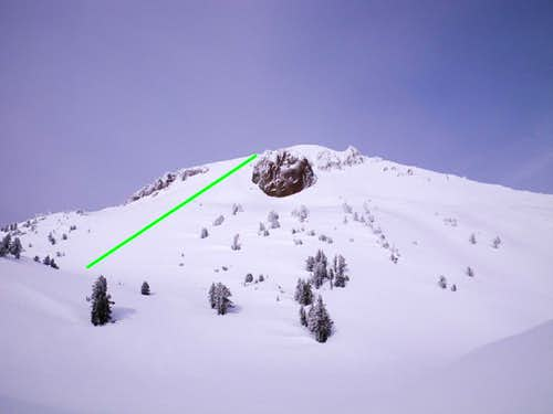SW Slope of Lassen Peak