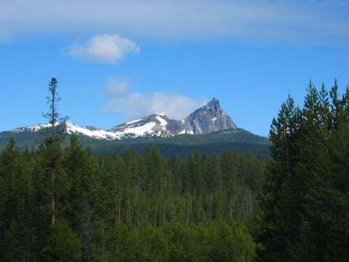 Mt. Thielsen from the SE- 3...
