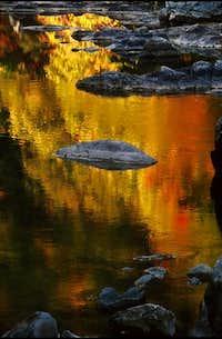 Watauga River Reflection