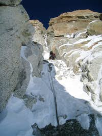 Cosmiques Icefall, first pitch
