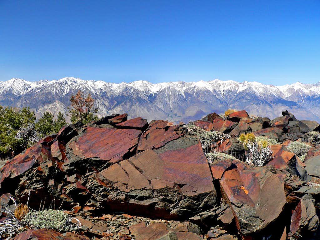 Across Owens Valley from Mazourka Peak