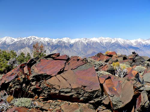 Across Owens Valley from Mazourka Peak