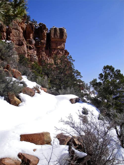 Early Nankoweap Trail Conditions
