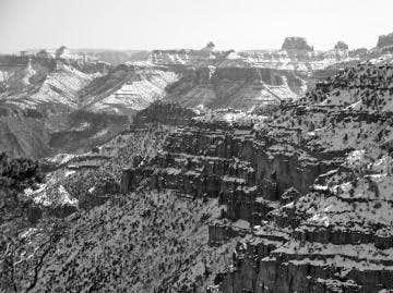 B&W Grand Canyon