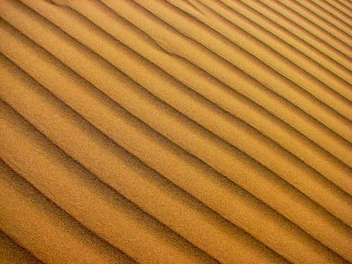کویر مرنجاب - رمل های شن
