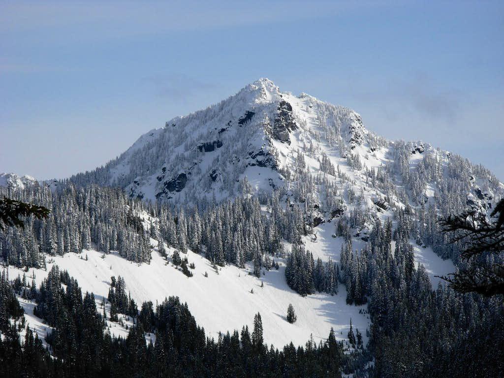 Mount Fernow From Beckler Peak