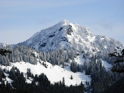 Mount Fernow From Beckler Peak