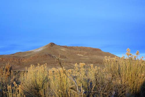 Whitehorse Butte just before Sunset