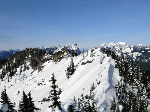 Beckler Peak Highpoints