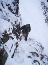 timm climbs mitterkarjoch in november conditions
