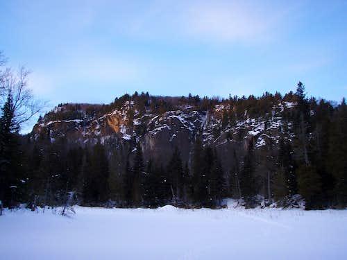 a big hill in canada