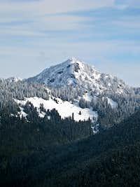 Mount Fernow From Beckler