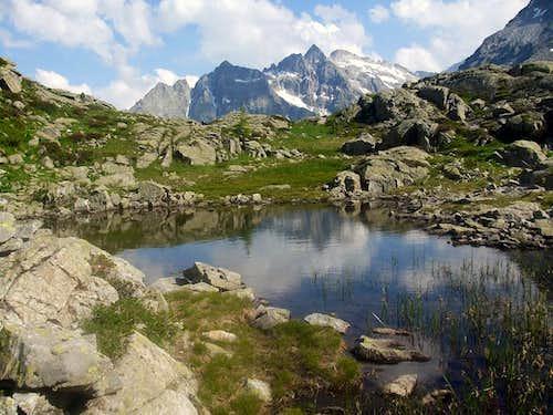 Ascent to Adamello