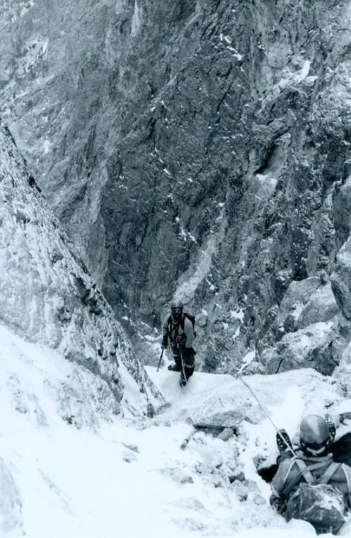 Sickle Couloir - Horstmann Peak