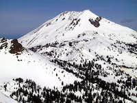 Lassen Peak and Mt Diller...