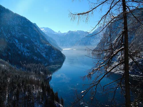 The Königssee - the lake of the kings