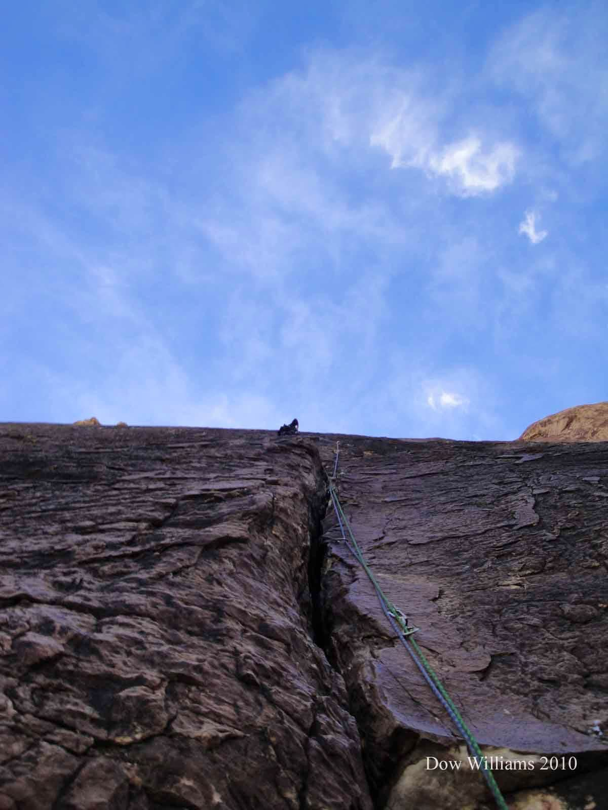 Yellow Brick Road, 5.10c, 4 Pitches