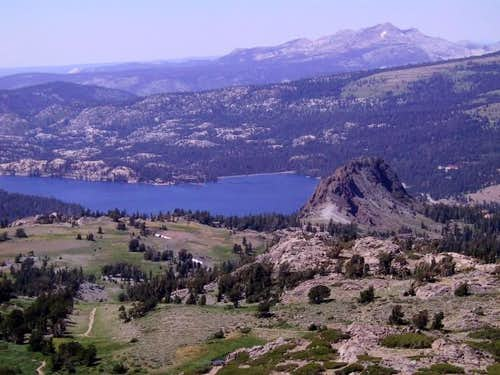 Black Butte, Caples Lake and...