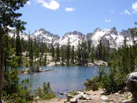 Pond below Alice Lake and a...