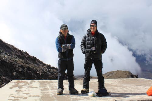 SP meeting on Cotopaxi