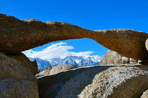 Window to The Eastern Sierras