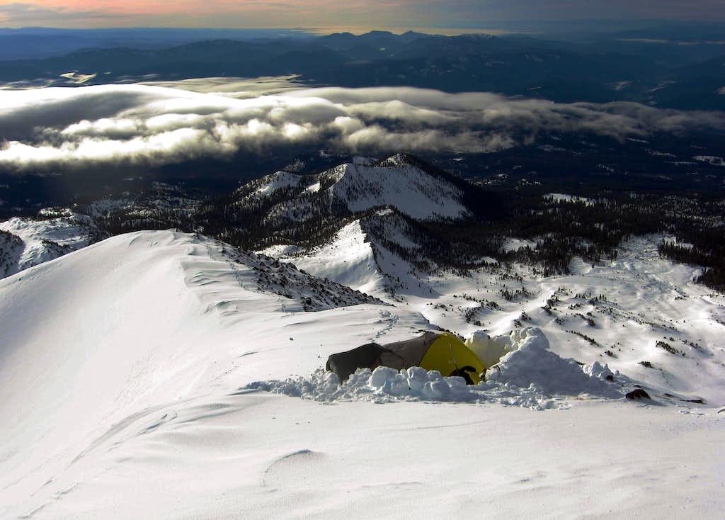 Camp on Sargents Ridge