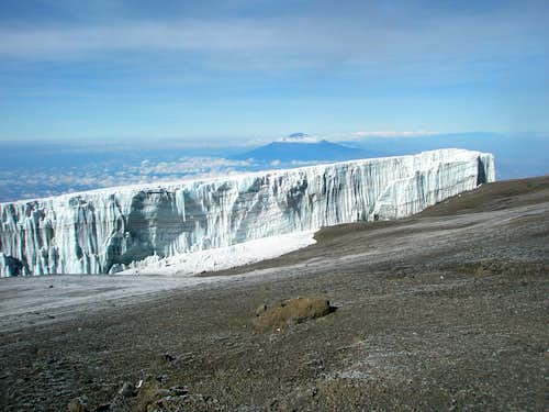 Summit Glaciers and Mount Meru