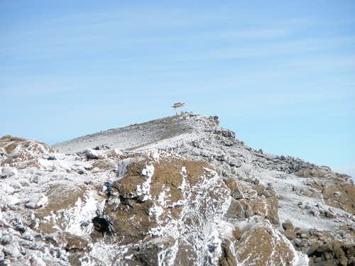 Kilimanjaro Summit Sign
